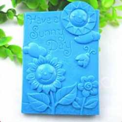 Silikónová forma na mydlo SUNNY DAY