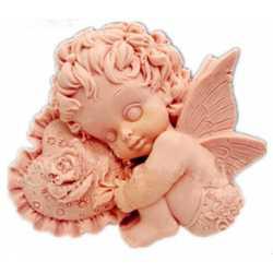 Silikónová forma na mydlo amorko chlapček