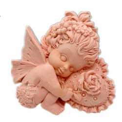 Silikónová forma na mydlo amorko dievčatko