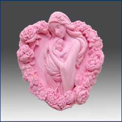 Silikónová forma na mydlo matka a dieťa III.