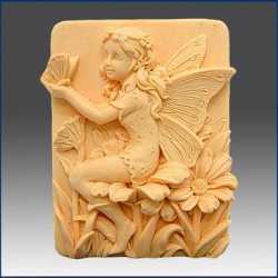 Silikónová forma na mydlo víla s motýľom II.