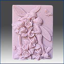 Silikónová forma na mydlo vílí milenci