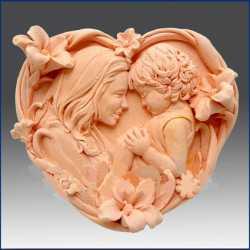 Silikónová forma na mydlo matka a dieťa II.