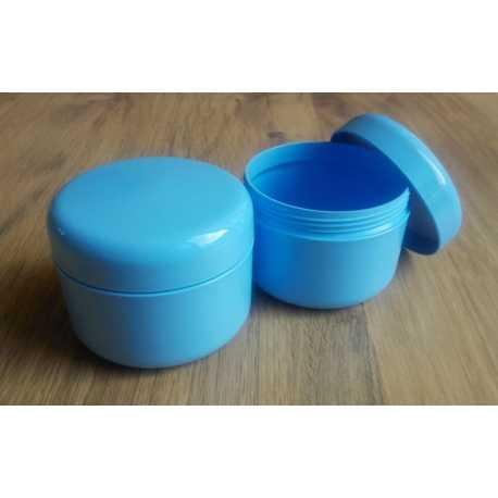 Kozmetická dóza - modrá 200ml