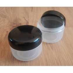 Kozmetická dóza - čierne viečko 150ml