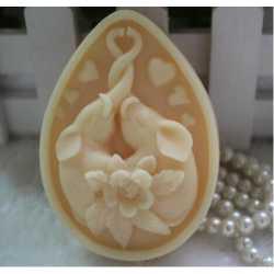 Silikónová forma na mydlo veľká láska