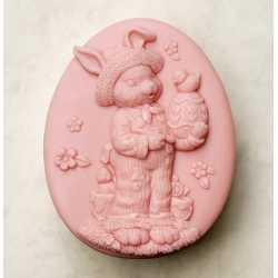 Silikónová forma na mydlo veľkonočný zajačik