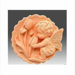 Silikónová forma na mydlo anjelik III.
