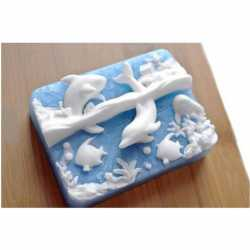 Silikónová forma na mydlo more