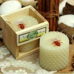 Silikónová forma na sviečku včelí plást
