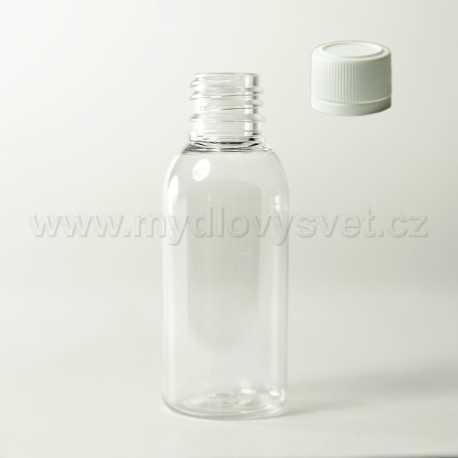 PET fľaštička 50 ml + uzáver G18