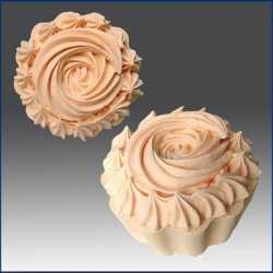 Silikónová forma na mydlo muffin
