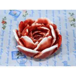 Silikónová forma na mydlo a sviečku 3D ruža IV,