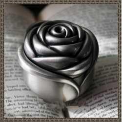 Silikónová forma na mydlo a sviečku 3D ruža V.,