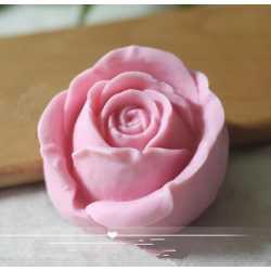 Silikónová forma na mydlo a sviečku 3D ruža VI.