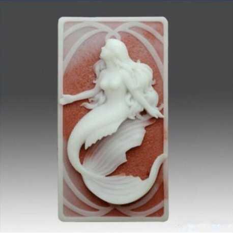 Silikónová forma na mydlo morská panna V.