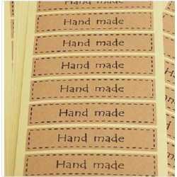Samolepky HAND MADE XIX.- 16ks