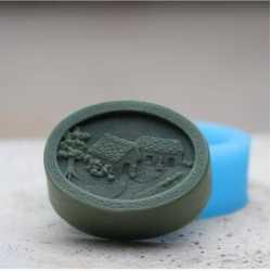Silikónová forma na mydlo domčeky