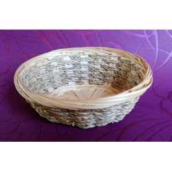 Bambusová miska ovál 16x13x6cm