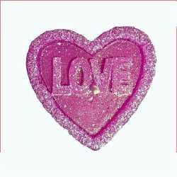 Silikónová forma na mydlo a sviečku ružičkové srdiečko veľké