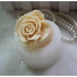 Silikónová forma na mydlo a sviečku 3D ruža VIII.