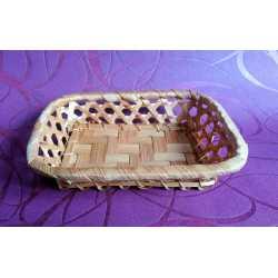 Bambusová miska medová obdĺžnik