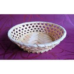 Bambusová miska kruh pr. 20 cm
