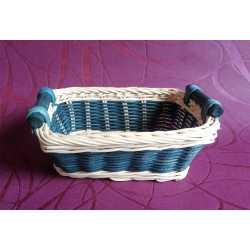 Bambusová miska modrá obdĺžnik