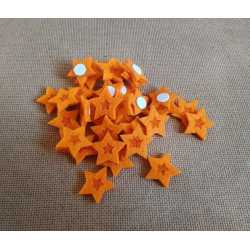 Hviezdička s lepkou - 35 ks