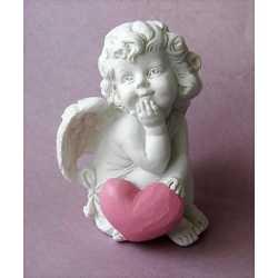 Silikónová forma na mydlo a sviečku 3D anjelik dievčatko IV.