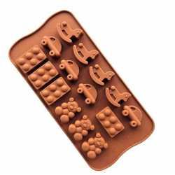 Silikónová forma na mydlo hračky - 15ks