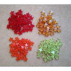 Hviezdičky korálky - 40 ks