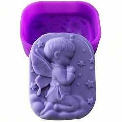 Silikónová forma na mydlo anjelik chlapček I.