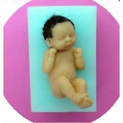 Silikónová mini formička bábätká