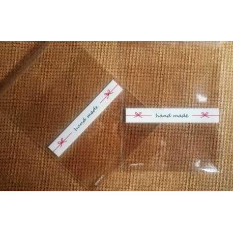 Celofánové vrecká HAND MADE III. - sada 10ks - Mydlový svet 35cab1deb6b