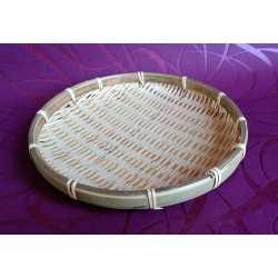 Bambusová tácka kruh pr. 20 cm