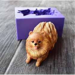 Silikónová forma na mydlo 3D psík III.