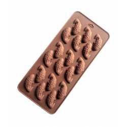 Silikónová forma na mydlo malé rybky - 18ks