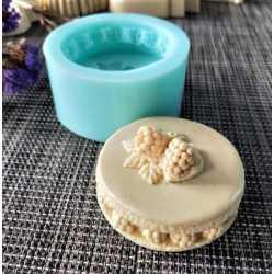 Silikónová forma na mydlo maliny