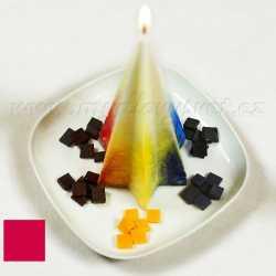 Farba na sviečky - červená 5g