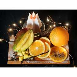 Pomaranč + mango + vanilka + klinček - parfumová kompozícia 10ml