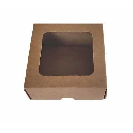 Darčeková krabička z hladkej lepenky 9x9x3,5cm