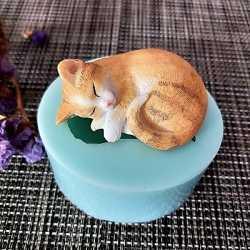 Silikónová forma na mydlo mačiatko