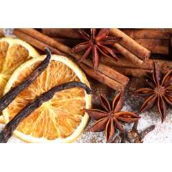 Vanilka + pomaranč + škorica - antialergický - parfumová kompozícia 10ml