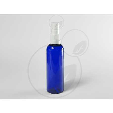 PET fľaštička 100ml + rozprašovač s poistkou originality