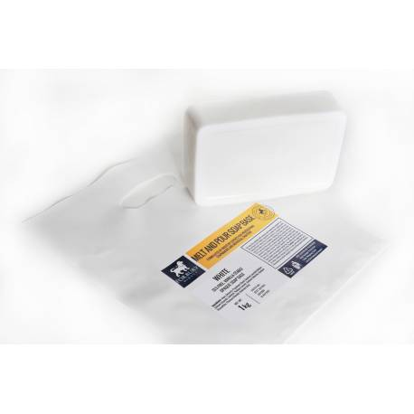 Mydlová hmota FORBURY biela bez SLS 1kg
