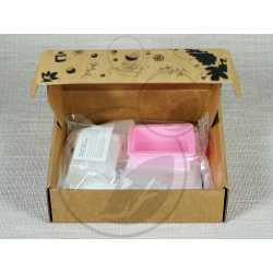 Sada na výrobu mydla S PEELINGOM v darčekovom balení