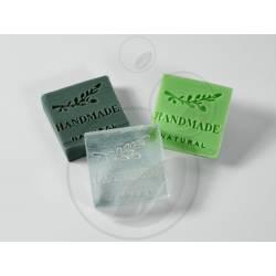 Pečiatka na mydlo HANDMADE NATURAL