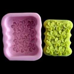 Silikónová forma na mydlo kvetinková vanička