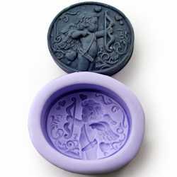 Silikonová forma na mýdlo Amor
